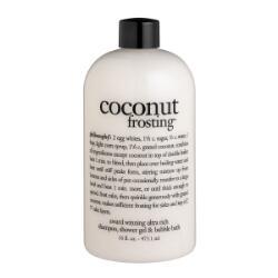 philosophy coconut frosting shampoo, shower gel & bubble bath