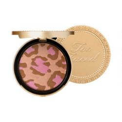 Too Faced Pink Leopard Blushing Bronzer Makeup