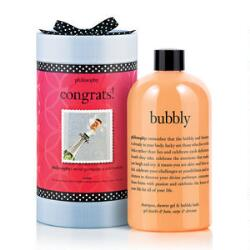 philosophy congrats! sets, bath sets, favorite bath and body products