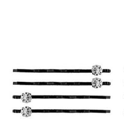 Victoria's European Black Brilliance Bobby Pins