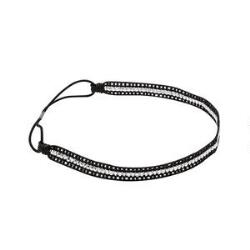 Victoria's European Black & Silver Headwrap