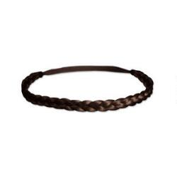 Mia Thick Braidie Headband - Medium Brown