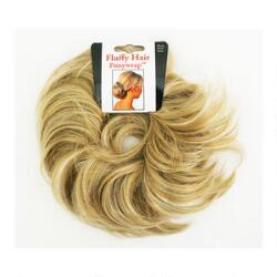 Mia Fluffy Hair Ponywrap - Blonde