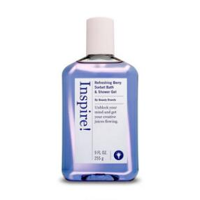 Inspire! Refreshing Berry Sorbet Bath & Shower Gel by beauty brands
