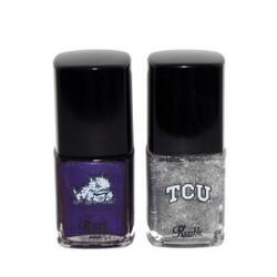 Rumble Cosmetics Happy as a Horned Frog TCU Nail Duo