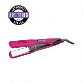 "Hot Tools Fabulous Fuchsia 1 1/2"" Digital Flat Iron"
