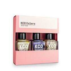 KCO Colors Nail Lacquer Trio - Jolie Plum