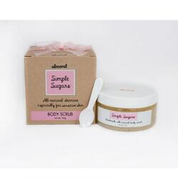 Simple Sugars Almond Body Scrub