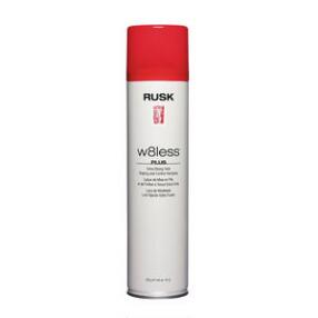RUSK Designer Collection W8less Plus Extra Strong Hold Shaping and Control Hairspray