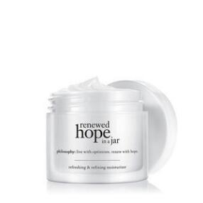 philosophy renewed hope in a jar skin-renewing moisturizer