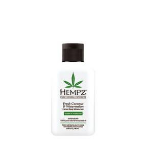 Hempz Fresh Coconut and Watermelon Herbal Moisturizer Travel Size