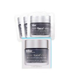 bliss Multi-'Face'-Eted All-In-One Anti-Aging Clay Mask 3 Packette Set