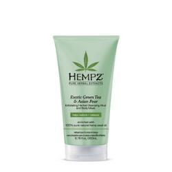 Hempz Exotic Green Tea & Asian Pear Exfoliating Herbal Body Cleanser & Mask