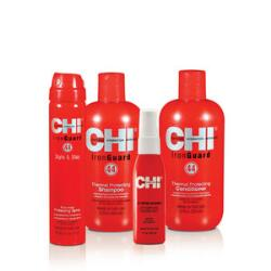 CHI 44 Iron Guard Thermal Protection Kit & Salon Hair Care Products