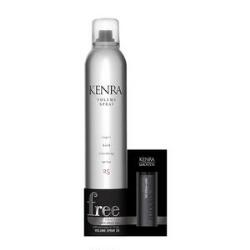 Kenra Volume Spray 25 & Anti-Frizz Oil Set