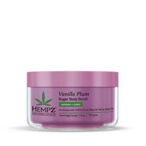 Hempz Vanilla Plum Relaxing Herbal Sugar Scrub