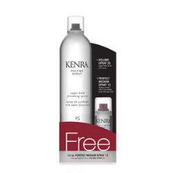 Kenra Volume Spray 25 & Perfect Medium Spray 13 Set