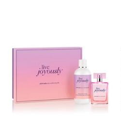 philosophy live joyously gift set