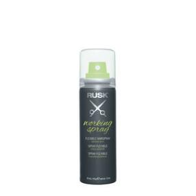 RUSK Working Spray Flexible Hairspray Travel Size