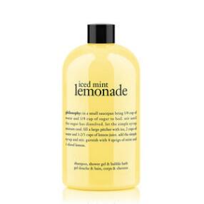 Philosophy Iced Mint Lemonade Shampoo Shower Gel Bubble Bath