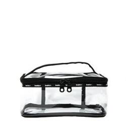 Modella Basics Clear Train Case