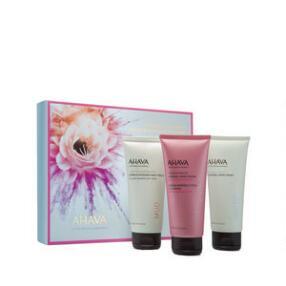 AHAVA 3 Mineral Must-Haves Hand Cream Trio