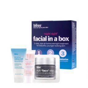 bliss Night Night Facial in a Box