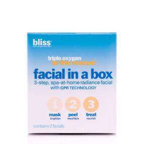 bliss Triple Oxygen Rescue Facial in a Box