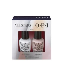 OPI All Stars Mini 2-Pack - Alpine Snow & Bubble Bath