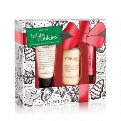 philosophy holiday cookies 3 piece set