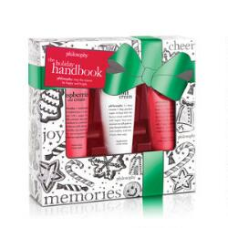 philosophy holiday handbook 3 piece set