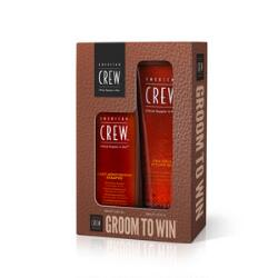 American Crew Daily Moisturizing Shampoo & Firm Hold Styling Gel Holiday Duo