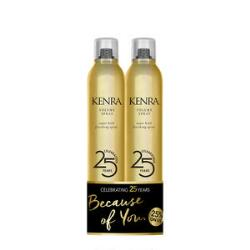 Kenra Volume Spray 25 Limited Edition Gold Can Duo