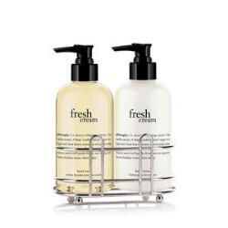 philosophy fresh cream hand care duo set