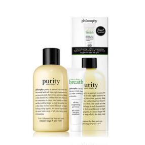 philosophy purity made simple & take a deep breath duo