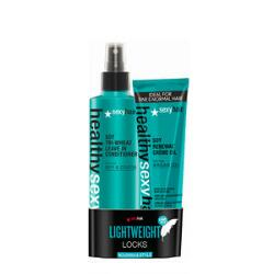 Sexy Hair Healthy Sexy Hair Tri-Wheat Leave In Conditioner & Soy Renewal Creme Oil Duo