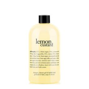 philosophy lemon custard shampoo, shower gel & bubble bath