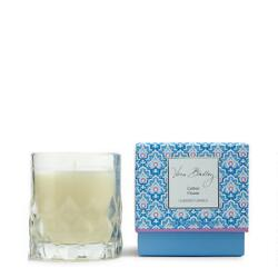 Vera Bradley Cotton Flower Scented Candle in Glass