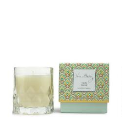 Vera Bradley Vanilla Sea Salt Scented Candle in Glass