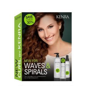 Kenra Professional Waves & Spirals Curl Trio Kit