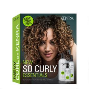 Kenra Professional Ringlets & Coils Curl Trio Kit
