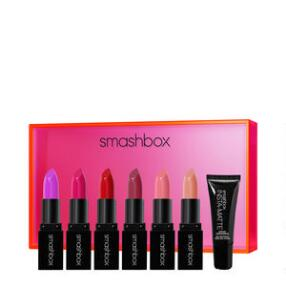 Smashbox Light It Up Lipstick & Mattifier 7-Piece Set