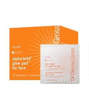 Dr. Dennis Gross Skincare Alpha Beta Glow Pad for Face