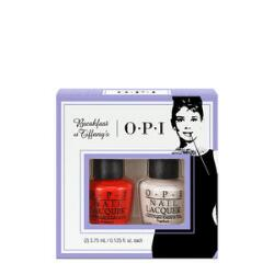 OPI Breakfast at Tiffany's Mini Pack - Bubble Bath & The Thrill of Brazil