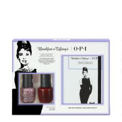 OPI Breakfast at Tiffany's Duo Pack with Mini Notebook