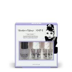 OPI Breakfast at Tiffany's Top It Off Trio Kit