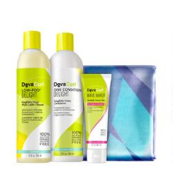 DevaCurl Delight 4-Piece Set
