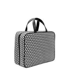Modella Modern Black and White Weekender Bag