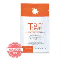 TanTowel Half Body Classic Towelette