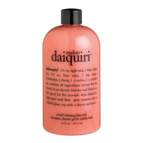 philosophy melon daiquiri shampoo, shower gel & bubble bath